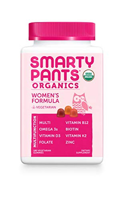 Daily Organic Gummy Women's Multivitamin by SmartyPants (180 Count)