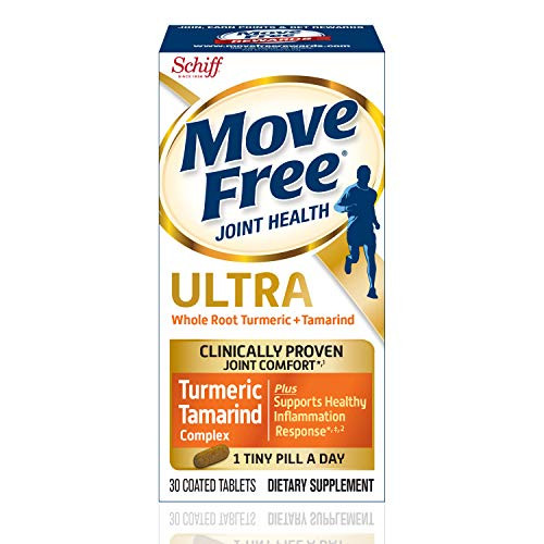 Turmeric & Tamarind Ultra Joint Health Supplement, Move Free (30 Count in A Box), Clinically Proven Joint Comfort in 1 Tiny Pill A Day