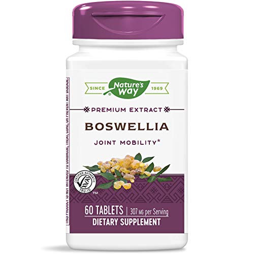 Nature's Way Boswellia, 307 mg per serving, 60 Tablets (Packaging May Vary)