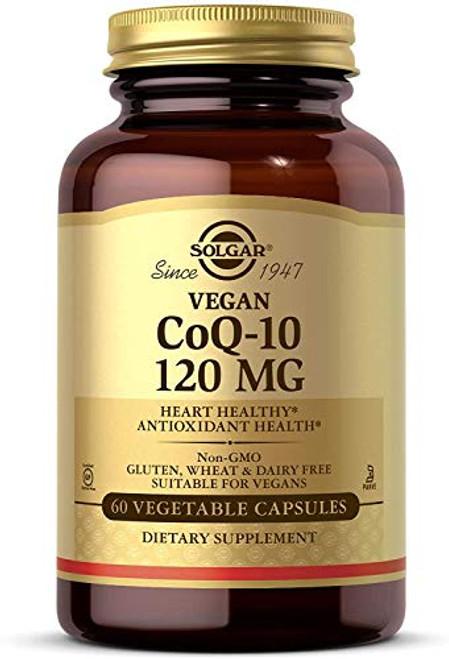 Solgar – Vegetarian CoQ-10 120mg, 60 Vegetable Capsules