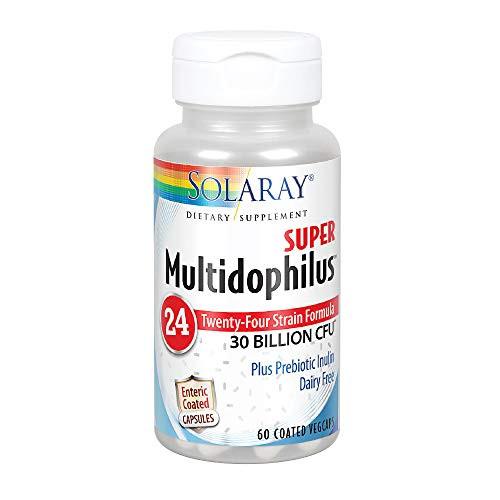 Multidophilus 24, Super 30 bil Solaray 60 VCaps