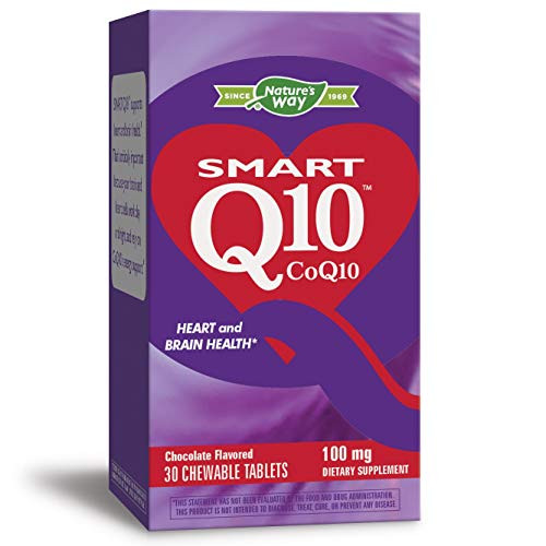 Smart Coq10 Chocolate Flavored 100 Milligrams 30 Chwbls