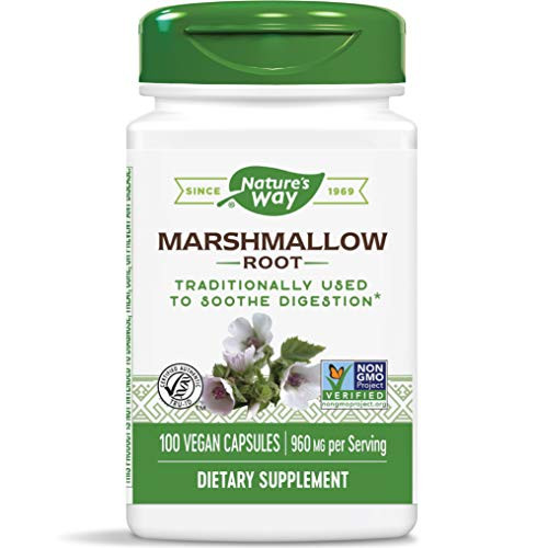 Natures Way Marshmallow Root, 455mg 100 Capsules