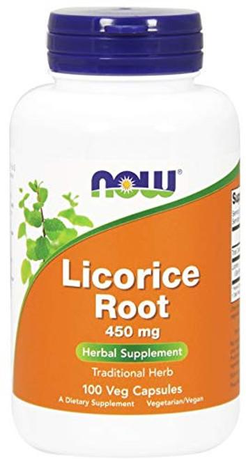 NOW Foods, Licorice Root 450mg 100 CAPS-1610565075