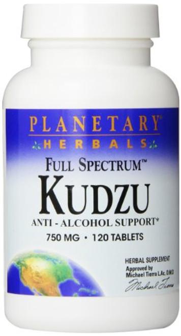 Planetary Herbals Full Spectrum Kudzu Tablets, 120 Count-1610567357