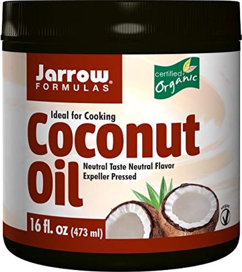 Jarrow Formulas 100% Organic Coconut Oil, 16 Ounce
