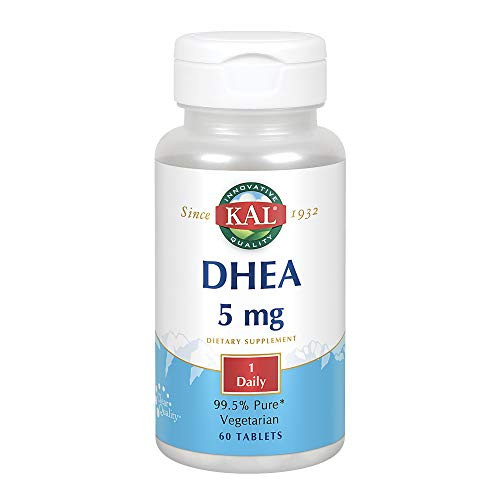 Kal - DHEA 5 mg. - 60 Tablets