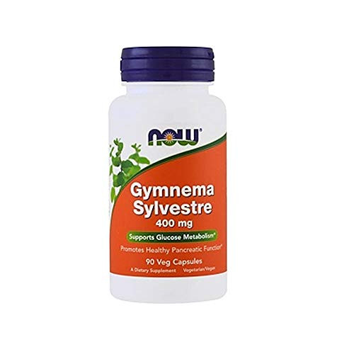 Now Foods - Gymnema Sylvestre 400 Mg 90 Vcaps Pack Of 3