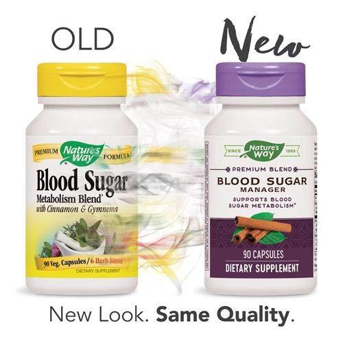 Nature's Way Blood Sugar, 90 Capsules (Pack of 2)-1610571693