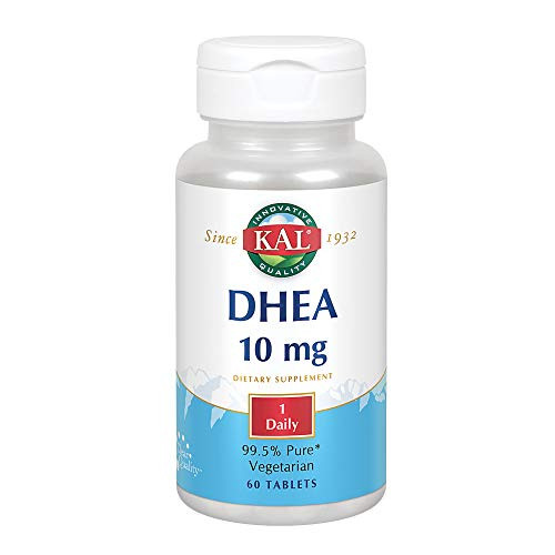 KAL DHEA-10 Tablets, 10mg, 60 Count-1610571969