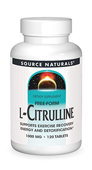 Source Naturals L-Citrulline 1000mg - Nitric Oxcide Booster - 120 Capsules-1610572503