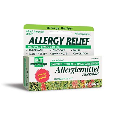 Boericke & Tafel Allergiemittel AllerAide Allergy Relief, 40 Tablets
