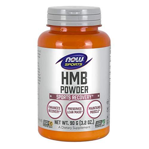 NOW Sports Nutrition, HMB (β-Hydroxy β-Methylbutyrate)Powder, Sports Recovery*, 90 Grams