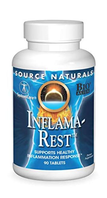 Source Naturals Inflama-Rest - 90 Tablets-1610574094