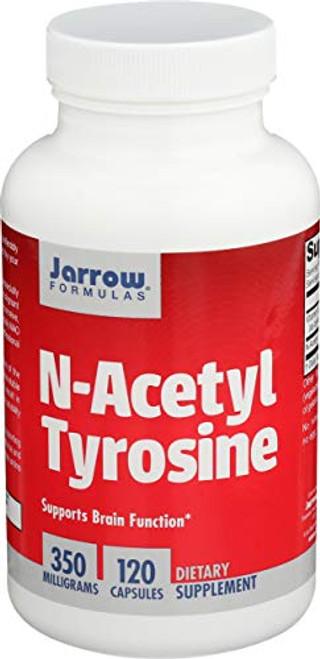 Jarrow Formulas - N-Acetyl Tyrosine 350 mg 120 caps (Pack of 2)