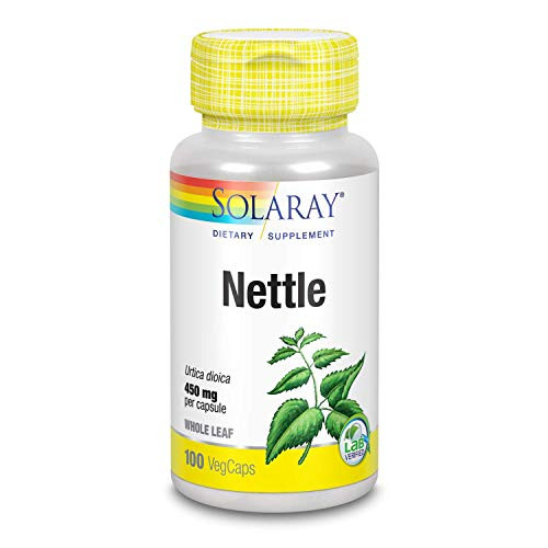 Solaray Organic Nettle Leaves Supplement, 450 mg   100 Count
