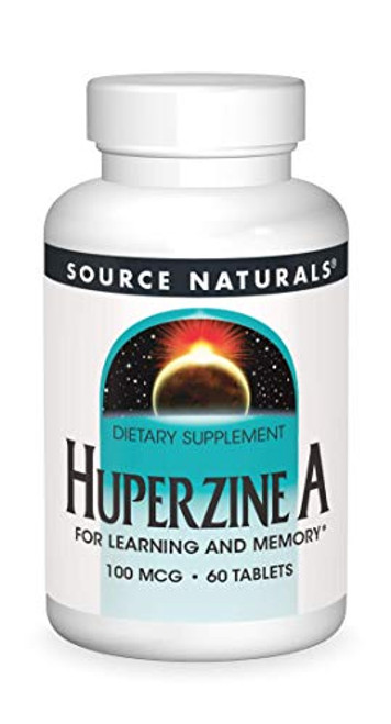Source Naturals Huperzine A 100 mcg for Learning & Memory - 60 Tablets