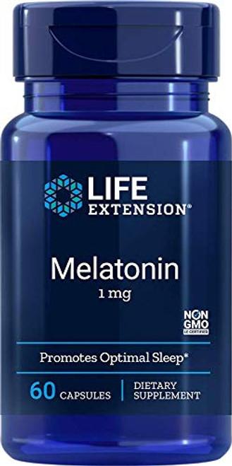 Melatonin 1 mg 60 Capsules (Pack of 2)