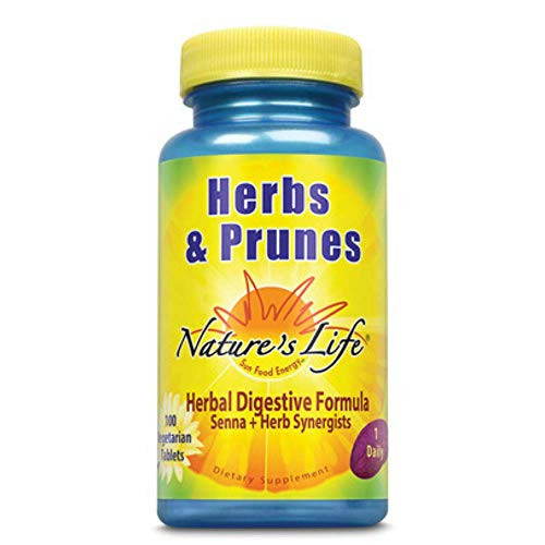 Nature's Life Herbs & Prunes | 100 ct
