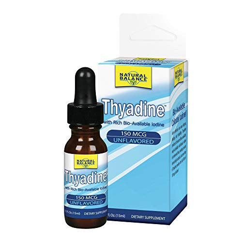 Natural Balance 150 mcg Thyadine Mineral Supplement, 0.5 Ounce-1610694564