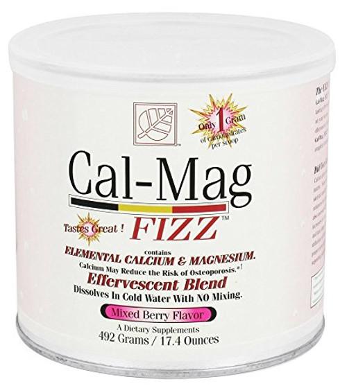 Baywood Cal Mag Fizz Powder, Mixed Berry, 17.4 Ounce-1610694850