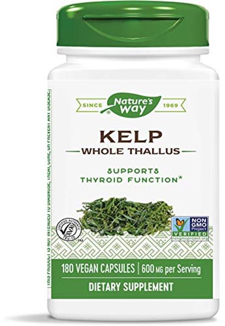 Nature's Way Kelp, 180 Capsules (Pack of 2)-1610695577