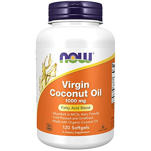 Now Foods, Virgin Coconut Oil, 120 Capsules