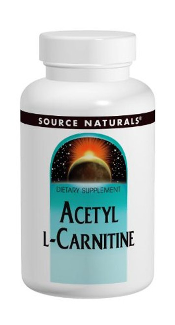 SOURCE NATURALS Acetyl L-Carnitine 500 Mg Tablet, 120 Count-1610696717