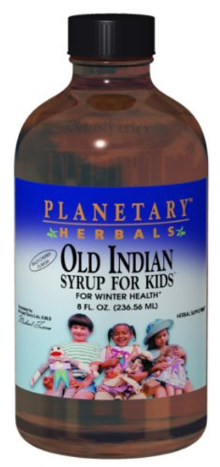 Planetary Herbals Old Indian Syrup for Kids, for Winter Health,8 Ounces-1610697367