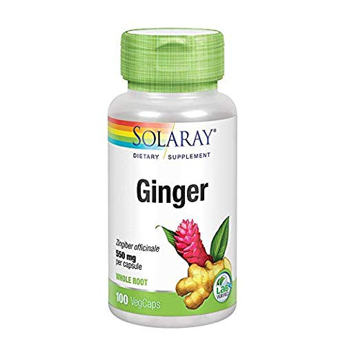 Ginger Root 550mg Solaray 100 VCaps