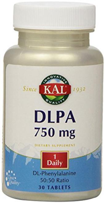 KAL DLPA Tablets, 750 mg, 30 Count