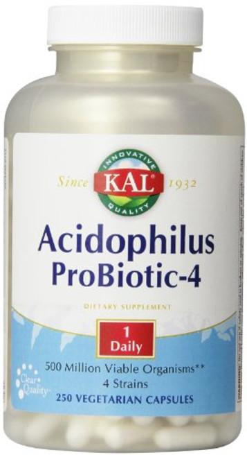 KAL Acidophilus Probiotic, 250 Count (Pack of 1)