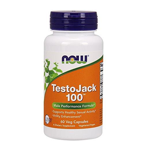 Now Foods: Testojack 100 Male Performance Formula, 60 vcaps