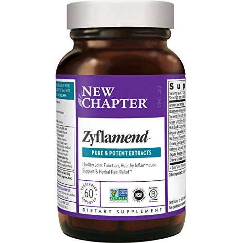 New Chapter Multi-Herbal + Joint Supplement, Zyflamend Whole Body for Healthy Inflammation Response-1610135938