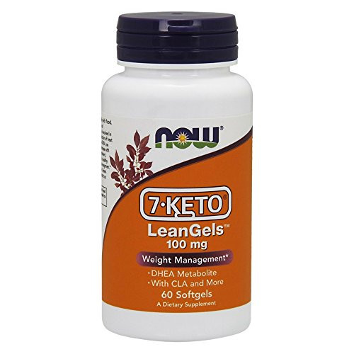 NOW Supplements, 7-Keto LeanGels 100 mg with CLA, Green Tea Extract, Acetyl-L-Carnitine and Rhodiola Extract, 60 Softgels