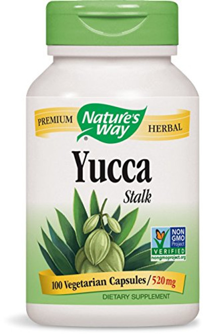 Nature's Way Yucca Stalk, 520 mg, 100 Capsules