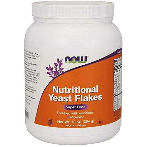 NOW Nutritional Yeast Flakes,10-Ounce-1610136316
