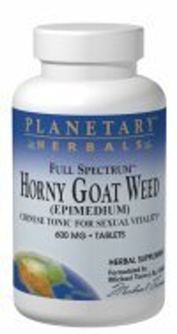 Planetary Herbals Horny Goat Weed 1200mg 60 Tabs