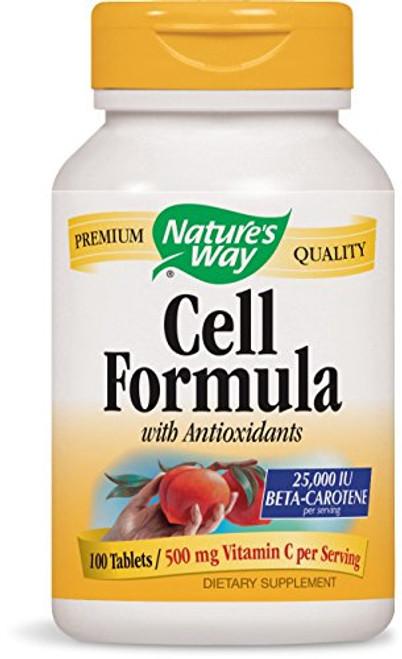 Nature's Way Antioxidant Formula, 25,000 IU Beta Carotene 100 Tablets