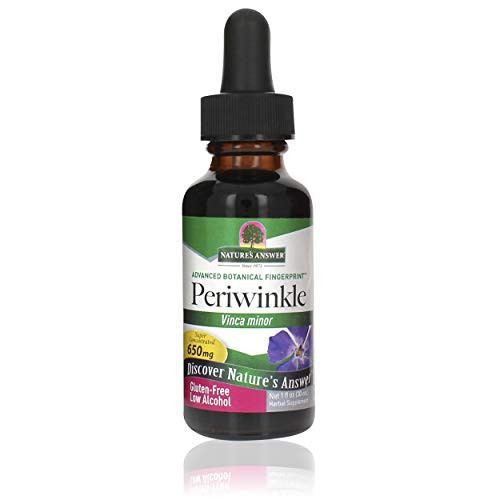 Nature's Answer Periwinkle Extract 2 Fluid Ounce | Naturally Lowers Blood Pressure | Helps with Skin