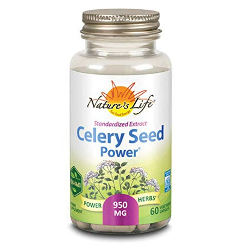 Nature's Life Zand, Celery Seed Power Capsule | 60 Count