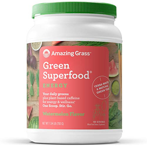Amazing Grass Green Superfood, Watermelon, 100 Servings