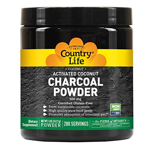 Activated Charcoal Country Life 5 oz Powder-1610741674