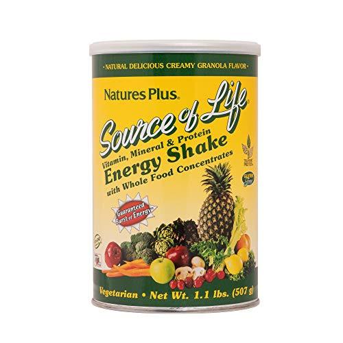 NATURES PLUS Shake Energy Source of Life, 17.6 OZ