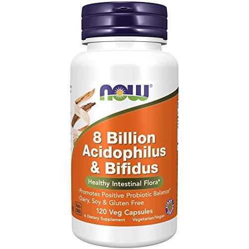 Now Foods: 8 Billion Acidophilus & Bifidus, 120 vcaps (2 pack)