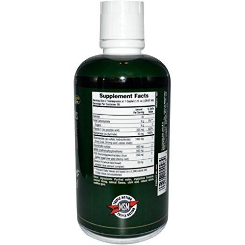 Glucosamine Chondroiton MSM Ultra Rx - Nature's Plus - 30 oz - Liquid