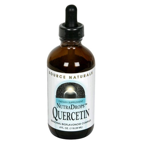 Source Naturals NutraDrops Quercetin, 4 Ounce (Pack of 2)