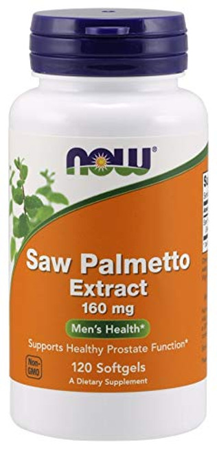 Now Foods Saw Palmetto 160mg 120 Sgels
