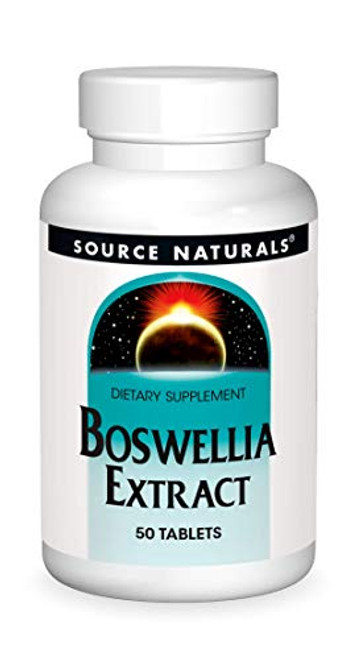 Source Naturals Boswellia Extract 243 mg Dietary Supplement - 50 Tablets