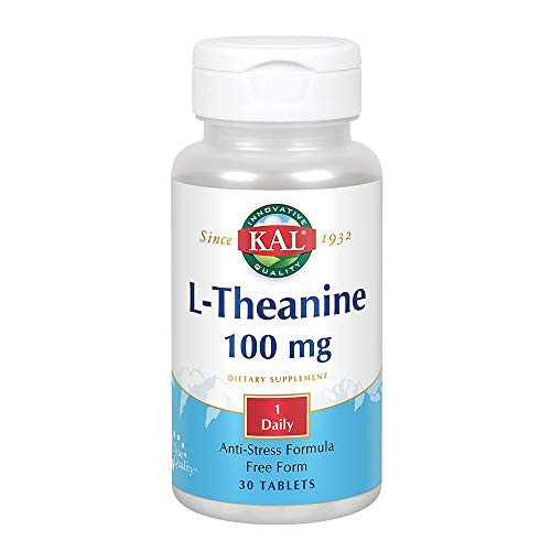 Kal 100 Mg L-theanine, 30 Count-1610743971